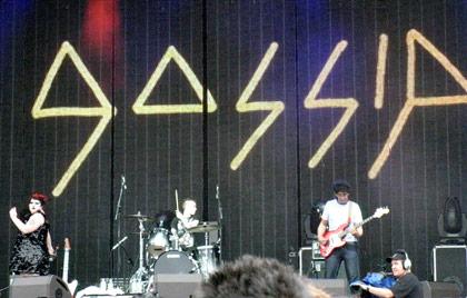 Gossip at Good Vibrations 2010