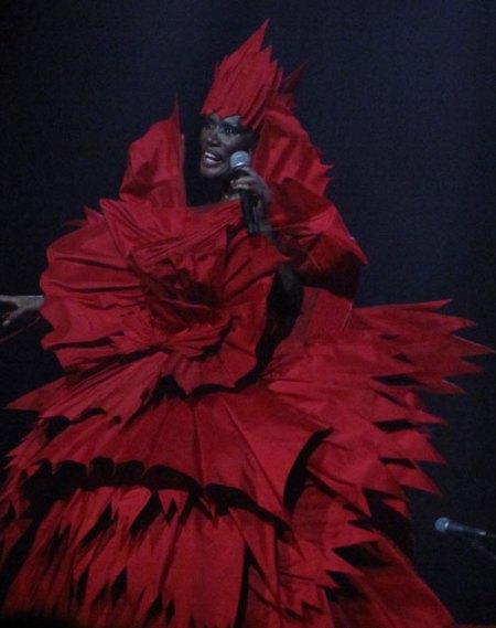 Grace Jones at Enmore Theatre April 19 2011